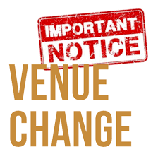 Change of Venue for the U17 Jim McGuigan Minor league and U16 Buncrana Cup