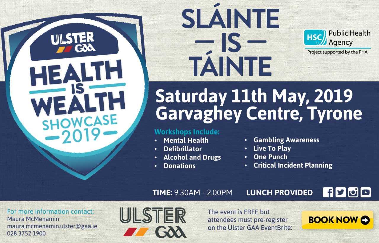 Ulster GAAHealth is WealthShowcase