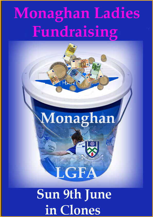 Look out for the Monaghan Ladies today in Clones