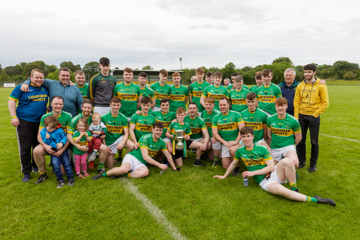 McKeown Cup heads to the Castleblayney Faughs club for 2019 – Platinum Tanks Reserve Football DIV 3 Championship