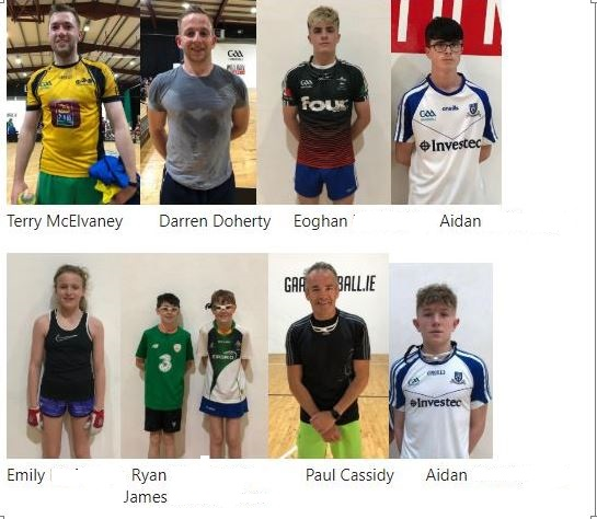 Massive Congratulations to our Monaghan GAA Handballers