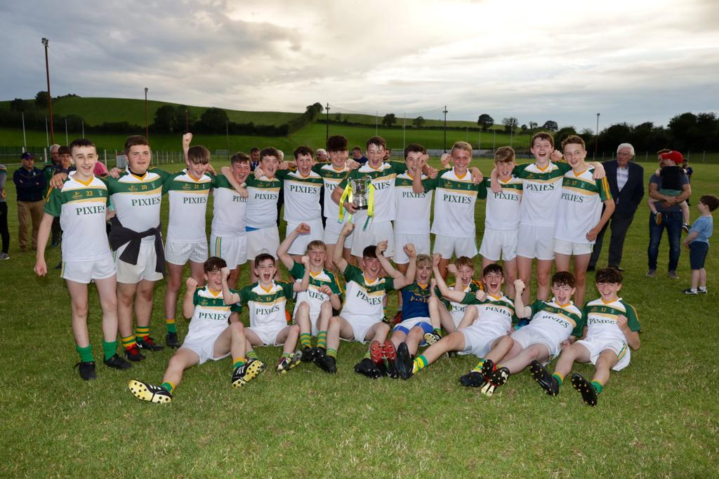 The Emmets And The Faughs Contested the Manor Farm U15 Division 1 Cup Final