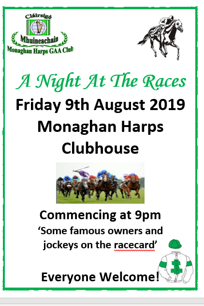 Monaghan Harps notes