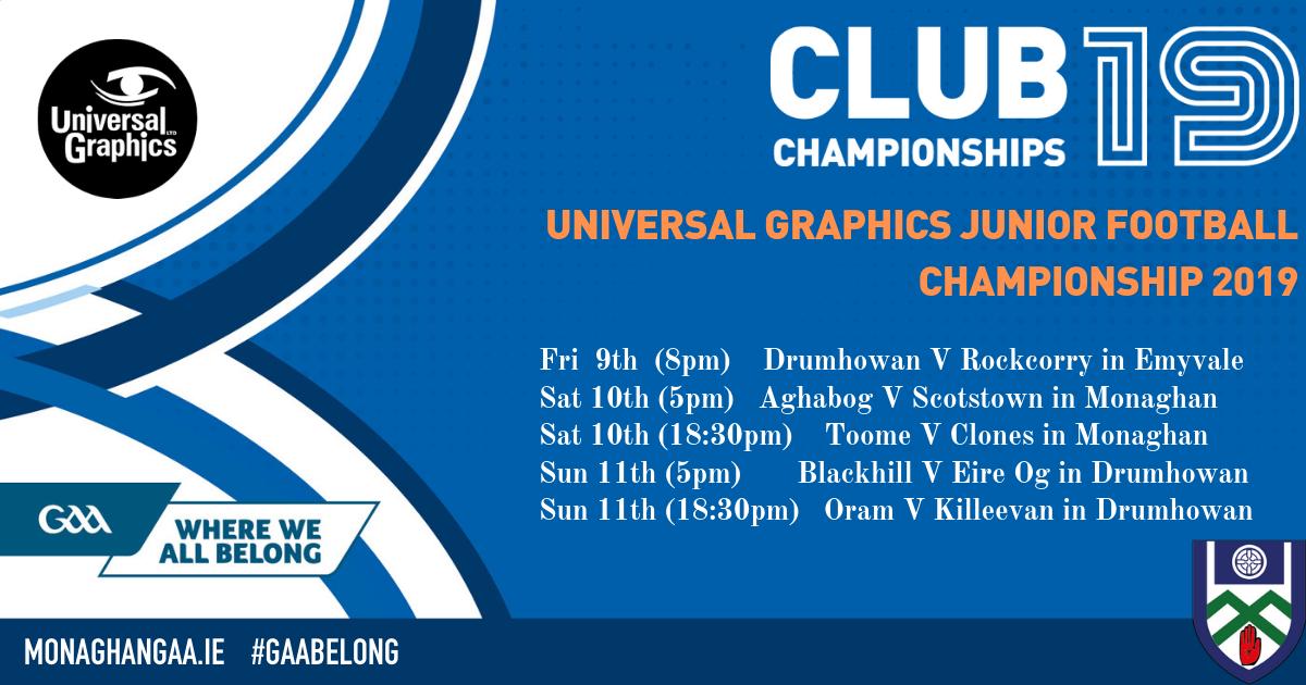 Fixtures & Results | CLG Mhuineacháin