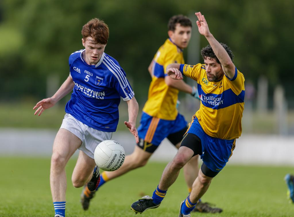 Universal Graphics Junior Football Championship Round 2A Drumhowan V Scotstown