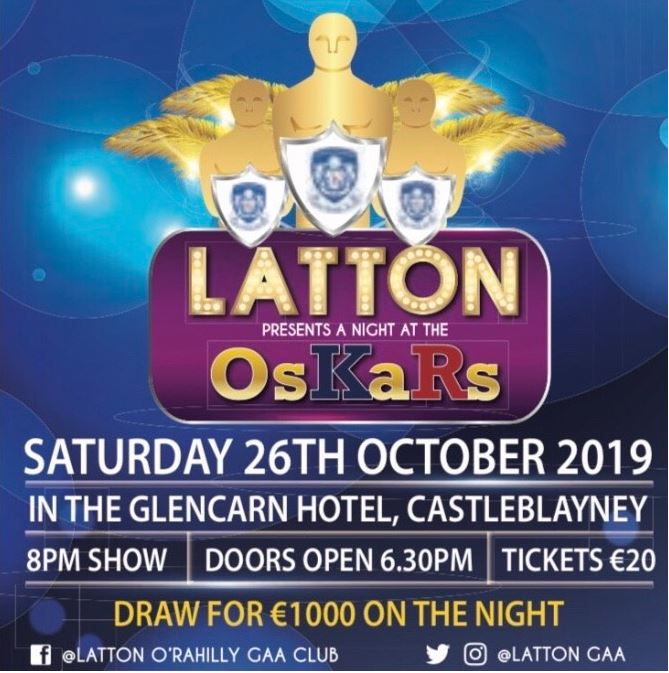 Latton O'Rahilly GAA Club present a night at the OsKars
