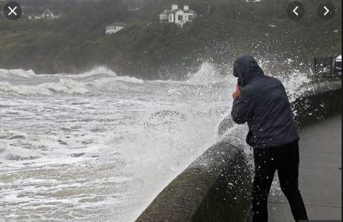Storm Lorenzo National Weather Warnings in effect
