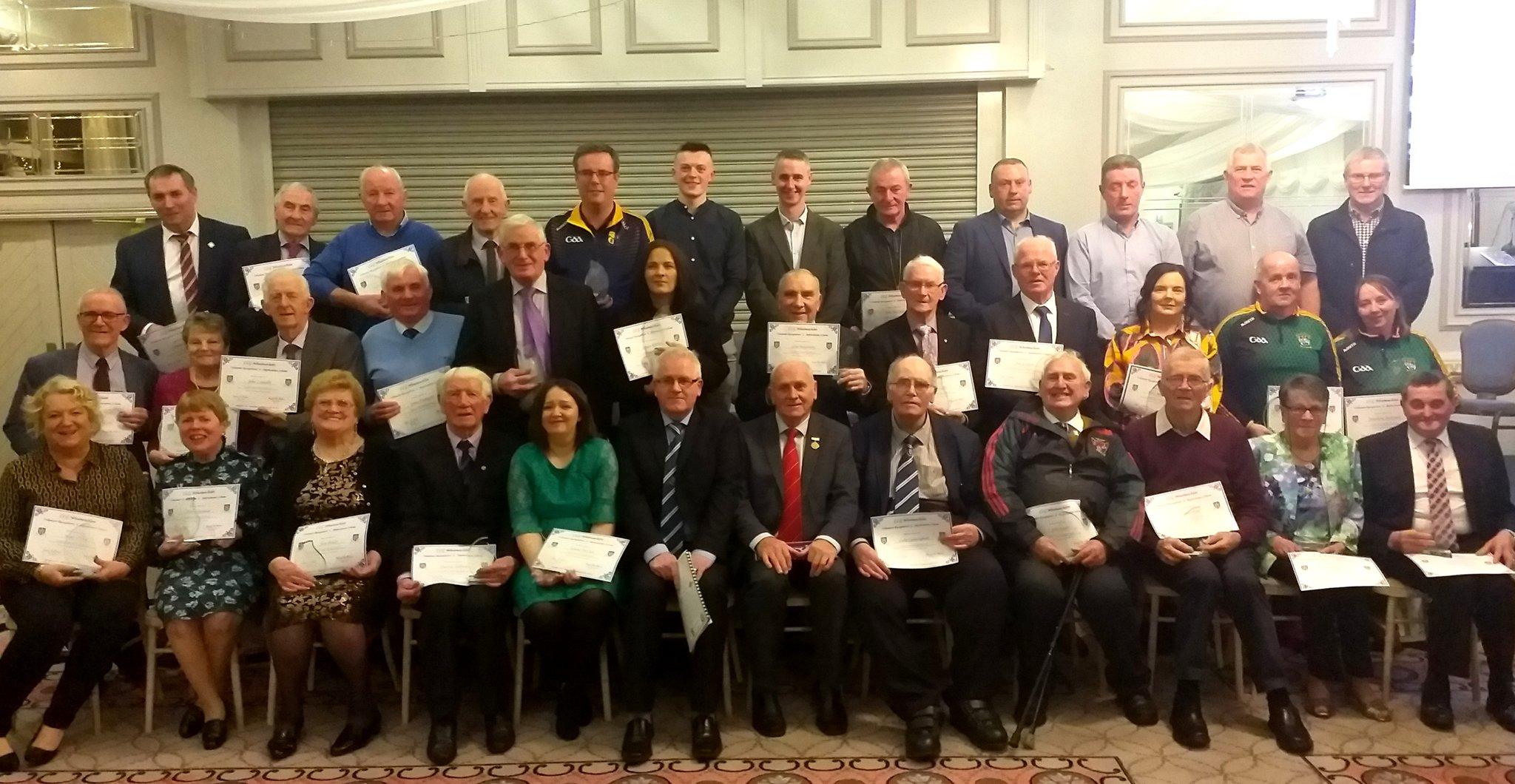 Monaghan GAA VolunteerRecognition& Appreciation Night 2019