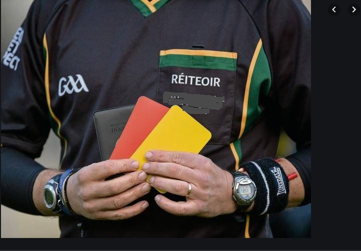 Referee's In Service Training Course – Thursday 5th December 7.30pm, Entekra Centre of Excellence, Cloghan